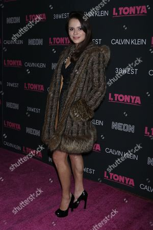 Editorial picture of 'I, Tonya' film premiere, Arrivals, New York, USA - 28 Nov 2017