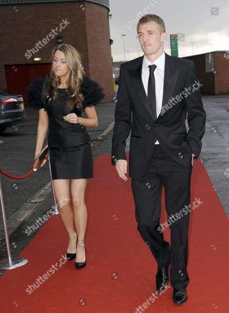 Stock Picture of Darren Fletcher and girlfriend Hayley Grice.