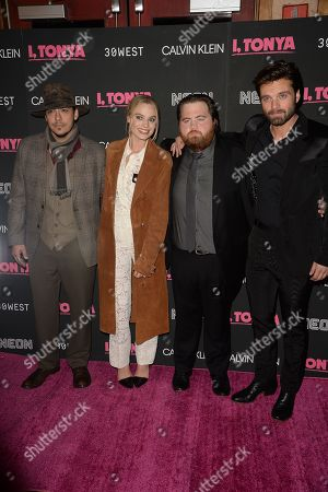 Stock Image of Ricky Russert, Margot Robbie, Paul Walter Hauser, Sebastian Stan