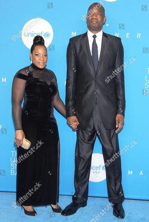Dikembe Mutombo and Rose Mutombo