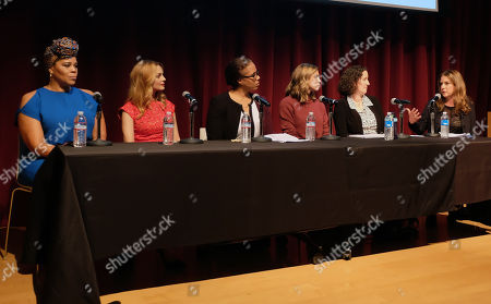 Editorial image of Women In Film Speaker Series Presents Sexual & Gender Abuse in the Workplace, Los Angeles, USA - 28 Nov 2017