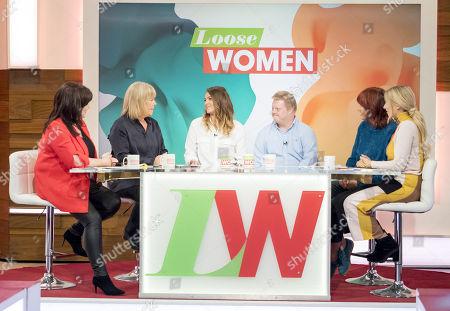 Coleen Nolan, Linda Robson, Shana Swash, Stephen Brandon, Janet Street-Porter and Stacey Solomon