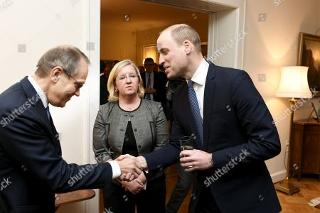 Editorial image of Prince William visit to Finland - 29 Nov 2017