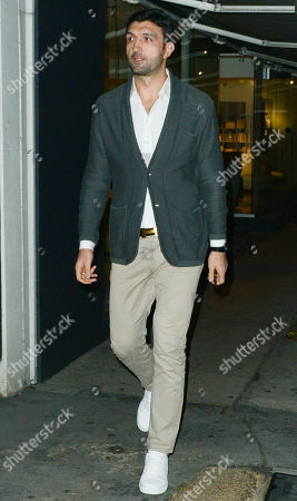 Editorial picture of Zaza Pachulia out and about, Los Angeles, USA - 28 Nov 2017