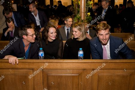 Stephen Campbell Moore, Anthea Harries, Cressida Bonas and Harry Wentworth-Stanley