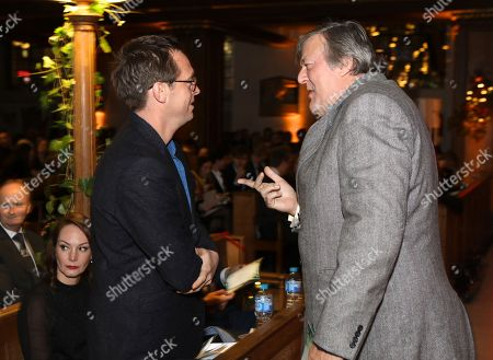Stephen Campbell Moore and Stephen Fry