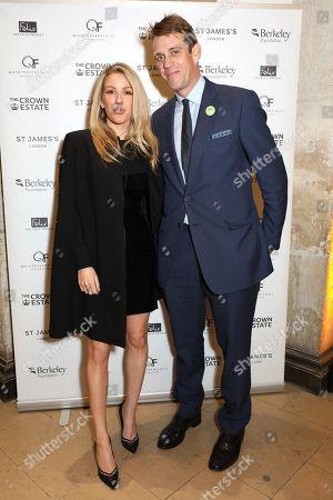 Ellie Goulding and Ben Elliot