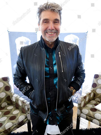 """Stock Photo of The Argentine-born singer Diego Verdaguer poses for a photo during an interview in Mexico City. Verdaguer includes banda, electronic music, and pop in his latest album """"Organico"""