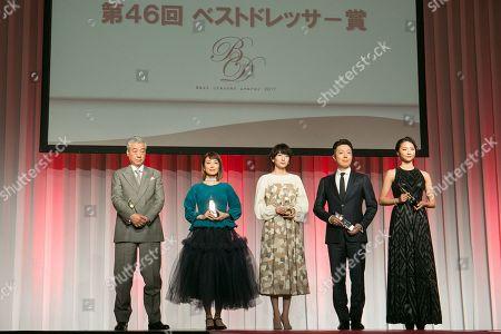 Editorial image of Japan Best Dresser Awards, Tokyo - 29 Nov 2017