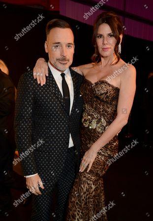 David Furnish and Christina Estrada