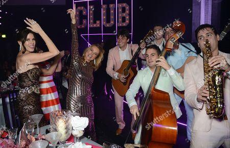 Christina Estrada with The Gypsy Queens