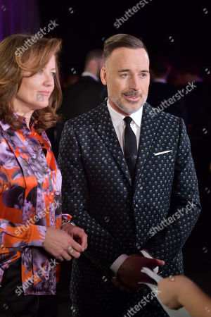 Stock Photo of Anne Aslett and David Furnish