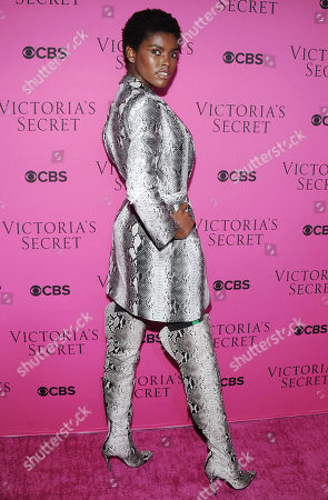 Editorial picture of Victoria's Secret Fashion Show viewing party, Arrivals, New York, USA - 28 Nov 2017