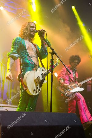 The Darkness - Justin Hawkins and Frankie Poullain