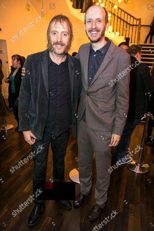 Rhys Ifans (Ebenezer Scrooge) and Jack Thorne (Adaptation)