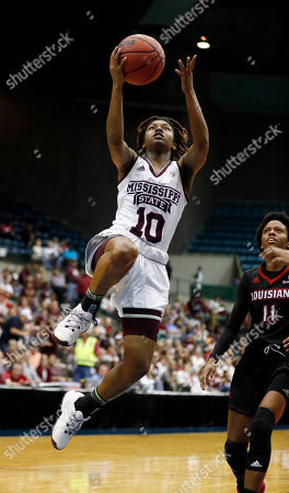 Editorial picture of LA Lafayette Mississippi St Basketball, Jackson, USA - 29 Nov 2017