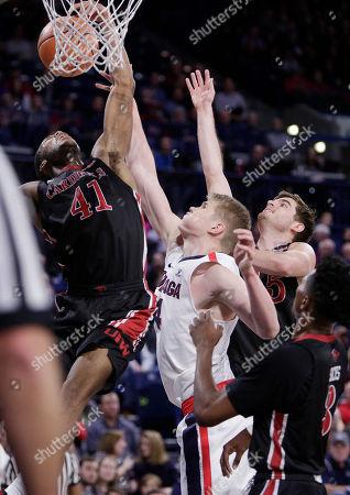 Editorial image of Incarnate Word Gonzaga Basketball, Spokane, USA - 29 Nov 2017