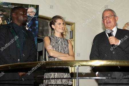 Daniel Kaluuya, Allison Williams and Ron Meyer (Vice Chairman/NBC Universal)