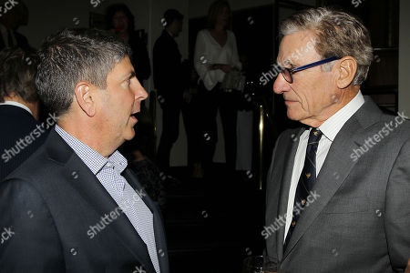 Jeff Shell (Chairman, Universal Filmed Entertainment Group) and Maury Povich