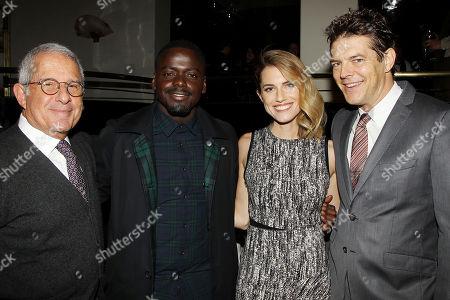 Ron Meyer (Vice Chairman /NBC Universal) Daniel Kaluuya, Allison Williams, Jason Blum (Producer)
