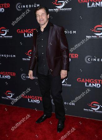 "Editorial photo of LA Premiere of ""Gangster Land"", Los Angeles, USA - 29 Nov 2017"