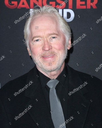 """Ian Patrick Williams arrives at the Los Angeles premiere of """"Gangster Land"""" at the Egyptian Theater on"""