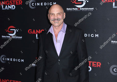 """Patrick Kilpatrick arrives at the Los Angeles premiere of """"Gangster Land"""" at the Egyptian Theater on"""
