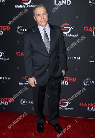 """Al Sapienza arrives at the Los Angeles premiere of """"Gangster Land"""" at the Egyptian Theater on"""
