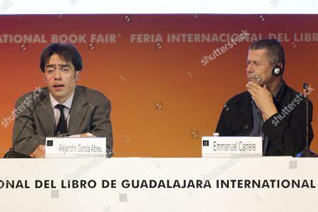 Alejandro Garcia Abreu and Emmanuel Carrere