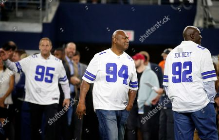 Chad Hennings, Charles Haley, Tony Tolbert. Former Dallas Cowboys players Chad Hennings, Charles Haley and Tony Tolbert are introduced along with the 1992 team as they honored prior to the NFL football game against the Philadelphia Eagles, in Arlington, Texas