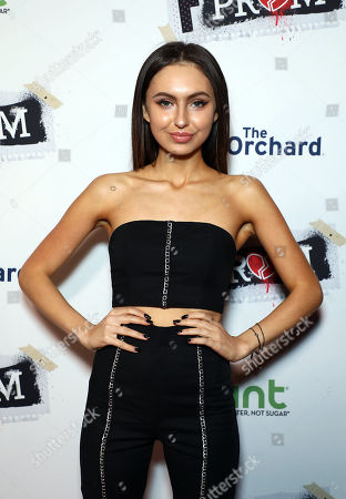 Editorial picture of HINT Water Hosts the Premiere Film Screening of 'F The Prom', Los Angeles, USA - 29 Nov 2017