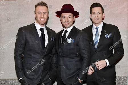 Fraser Walters, Victor Micallef and Clifton Murray, The Tenors