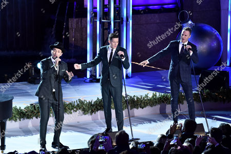Victor Micallef, Clifton Murray, Fraser Walters, The Tenors