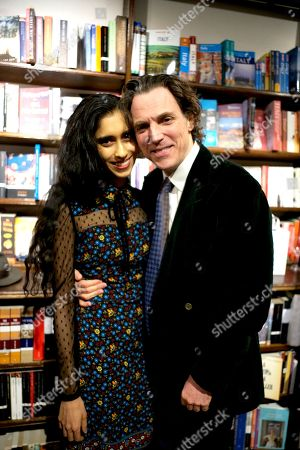 Sacha Newley and Sheela Raman
