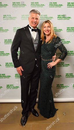 Stock Image of Sophie Conran with husband Nicholas Hofgren.