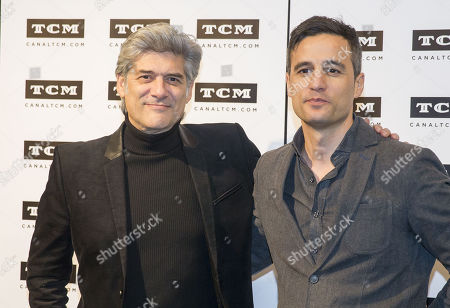 Stock Picture of Actor Georges Corraface, Director Pedro Gonzalez Bermudez