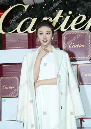 Editorial photo of Jing Tian Cartier photocall, Shanghai, China - 28 Nov 2017