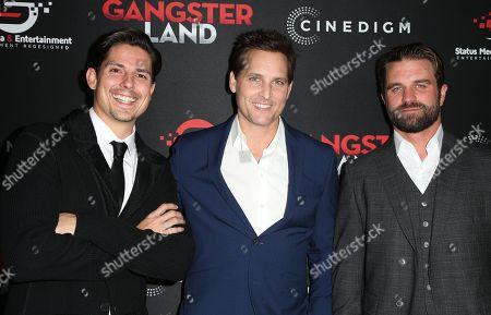 Stock Picture of Sean Faris, Peter Facinelli, Milo Gibson