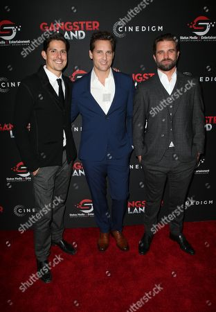 Editorial photo of 'Gangster Land' film premiere, Los Angeles, USA - 29 Nov 2017