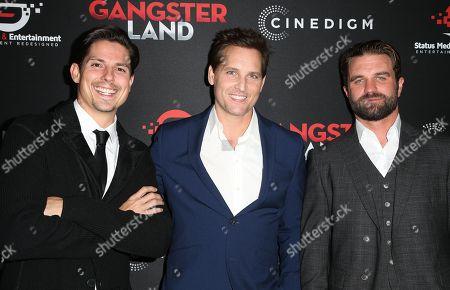 Editorial image of 'Gangster Land' film premiere, Los Angeles, USA - 29 Nov 2017