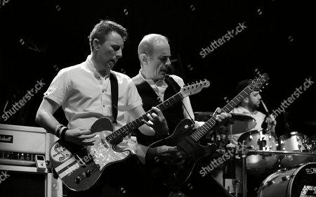 Richie Malone (Guitar & Vocals) & Francis Rossi (Lead Guitar & Vocals) of Status Quo
