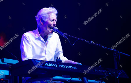 Stock Image of Andy Bown (Keyboard & Vocals) of Status Quo