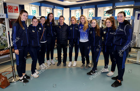Editorial picture of Liberty Insurance Camogie All-Stars Visit The Santiago Bernabeu, Madrid, Spain  - 30 Nov 2017