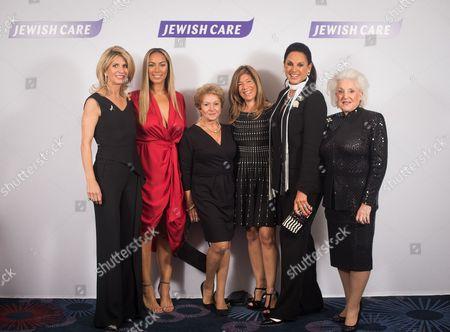 Nicola Loftus, Leona Lewis, Lady Gilda Levy, Linda Bogod, Dame Gail Ronson, Lady Amy Christine Dumas Young.