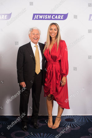 Leona Lewis with Lord Lord Levy.