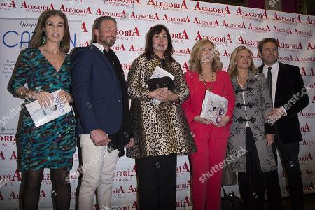 Carmen Martinez Bordiu, Tim Mckeague, Nieves Herrero, Carmen Posadas, Almudena de Arteaga, Albert Castillo
