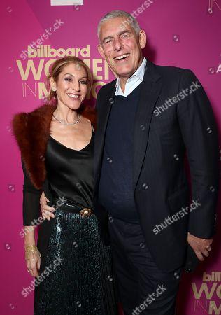 Julie Greenwald and Lyor Cohen