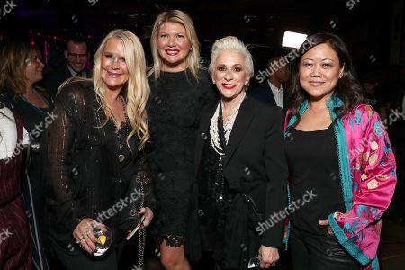 Allison Jones, Marcie Allen, Marsha Vlasic and Elsa Yep
