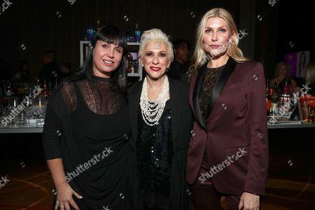 Elyse Rogers, Marsha Vlasic and Natalia Nastaskin