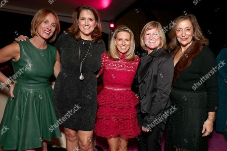 Lisa Licht, Kathy Willard, Amy Howe, Patti-Anne Tarlton and guest